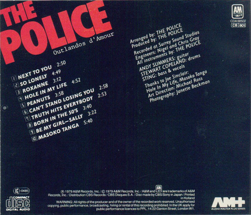 The Police and Sting The Best Of Car Music