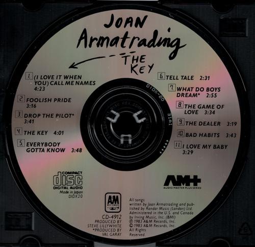 "The very rare Japanese CBS/Sony, ""DIDX-20"" pressing of Joan"